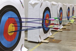 Taking Aim at the Statewide Archery Championship
