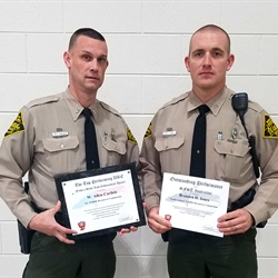 Wildlife Officers Recognized for Efforts Against Drug and Alcohol Use