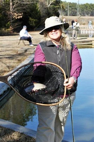 Becoming an Outdoors-Woman Offers Fly-Fishing Workshop